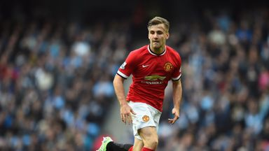 Luke Shaw: The defence has had an injury-plagued first season at Old Trafford