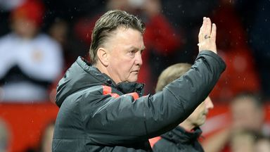 Manchester United manager Louis van Gaal takes his side to White Hart Lane.