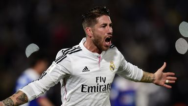 Sergio Ramos: Has two years remaining on current deal