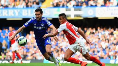 Cesc Fabregas and Alexis Sanchez: Impressing after arriving from Barcelona this summer