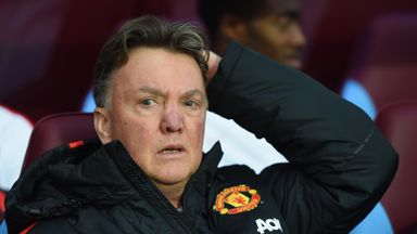 Louis van Gaal was left frustrated with United's draw at Villa Park on Saturday