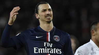 Ibrahimovic: has never played in the Premier League