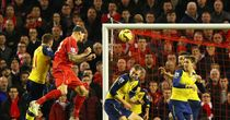 Martin Skrtel heads home Liverpool's equaliser in the 97th minute