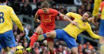Steven Gerrard and Lukas Podolski: Anfield draw predicted