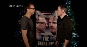 The Stare Off II: Carragher v Byrne