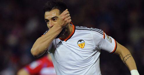 Alvaro Negredo: Keen to stay at Valencia