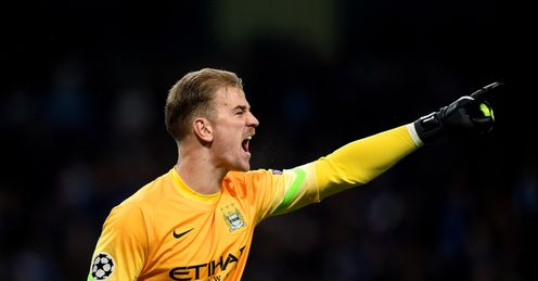 Joe Hart: New contract with Manchester City