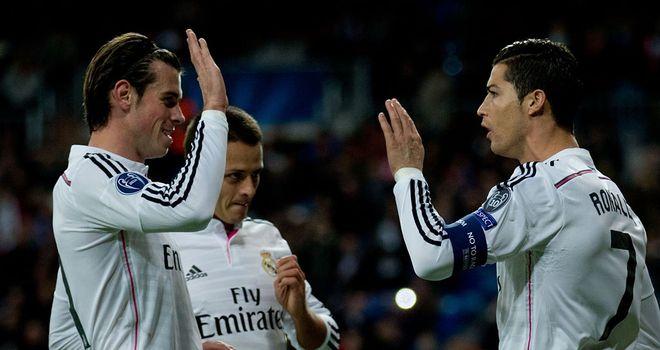Madrid v ludogorets 9th dec 2014 report champions league sky