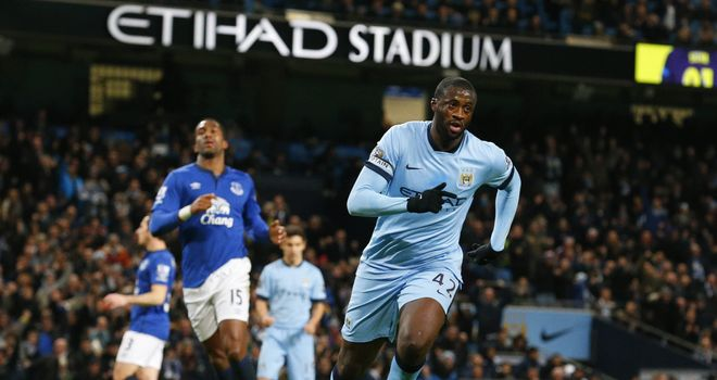 Toure: First-half penalty proved enough for City