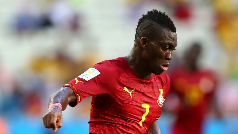 Christian Atsu is back at Chelsea receiving treatment after being injured on international duty
