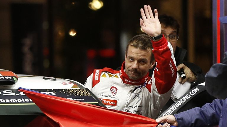 Sebastien Loeb is Louise Cook's favourite driver