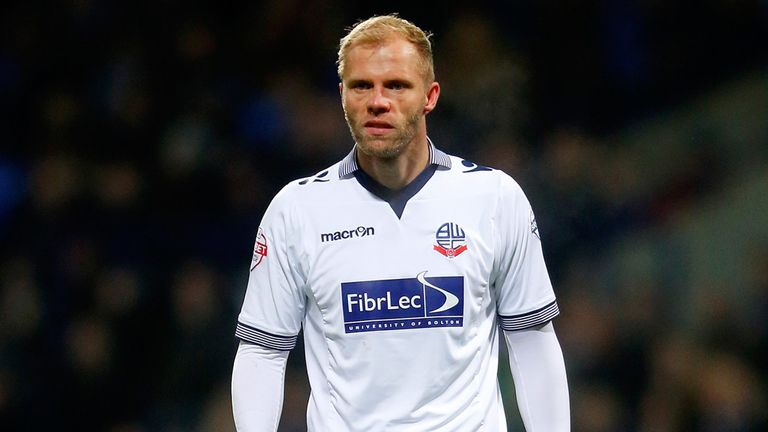 Eidur Gudjohnsen: Headed in a late equaliser for Bolton