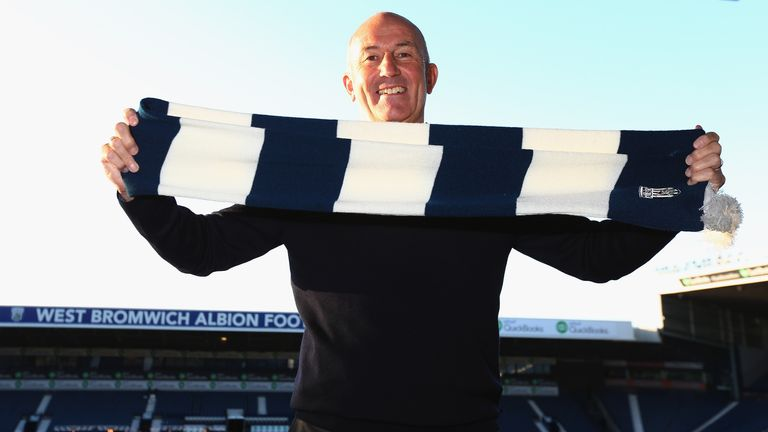 Pulis was unveiled as the new West Brom manager in January 2015