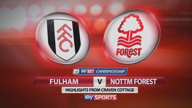 Fulham 3-2 Nott'm Forest