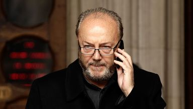 MP George Galloway: Wants government help for cup tie