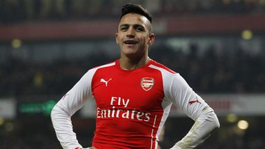 Alexis Sanchez: Arsenal forward will play for Chile in the Copa America this summer
