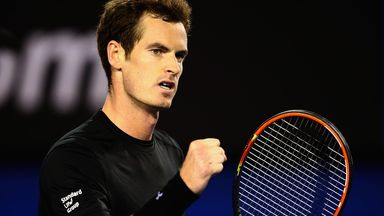 Andy Murray: Faces teenager Nick Kyrgios on Rod Laver Arena