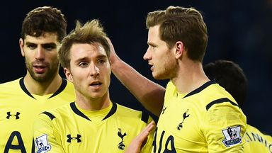 Jan Vertonghen says practice is paying off for Christian Eriksen