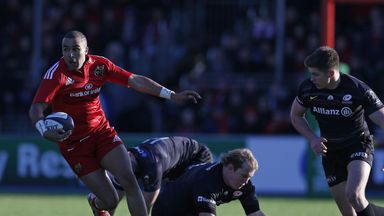 Simon Zebo: Has recovered from a back injury to start for Munster