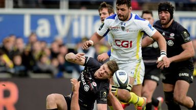 Owen Farrell: Saracens fly-half is a major doubt for England's first Six Nations game after sustaining knee injury in defeat to Clermont