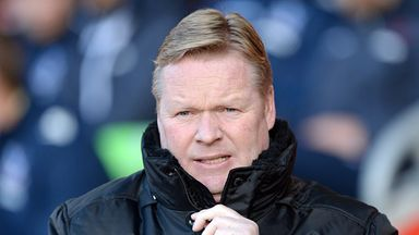 Ronald Koeman: Has stressed the importance of  Southampton's next two matches