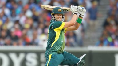 Shane Watson is to sit out Friday