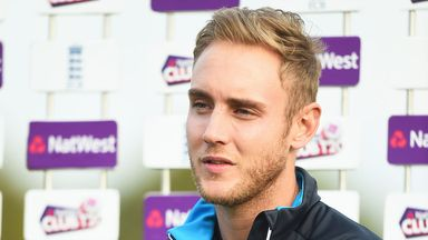 Stuart Broad says his knee is feeling really good ahead of the Tri-series in Australia
