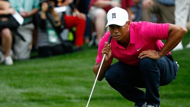 Tiger Woods: Rallied from five-over to post 73