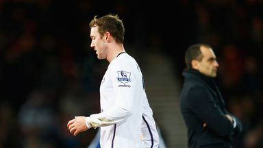 Aiden McGeady has made just one appearance for Everton this season