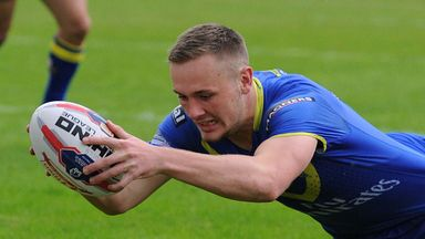 Ben Currie: Warrington Wolves' second row was in excellent form in the win over Salford