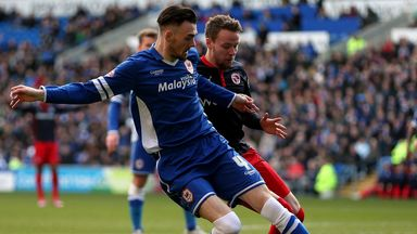 Chris Gunter: Defender (right) will stay at Reading next season