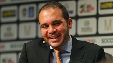 Prince Ali Bin Al Hussein: One of five potential challengers to Sepp Blatter