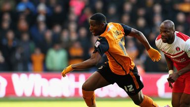 Benik Afobe: Linked with West Brom