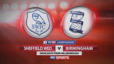 Sheff Wed 0-0 Birmingham