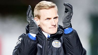 Gary Teale: St Mirren boss was delighted with win