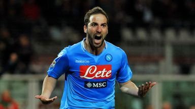 Gonzalo Higuain: Set to see out his contract