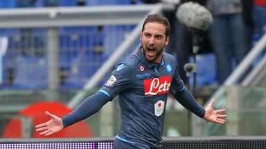 Gonzalo Higuain: Scored two hotly-disputed goals