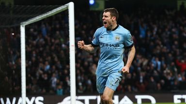 James Milner: Has made 28 appearances for Manchester City this season