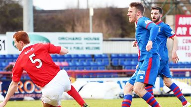 Marley Watkins: Opens the scoring for Inverness