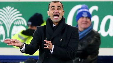 Roberto Martinez: Nobody leaving Goodison