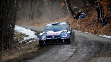 Sebastien Ogier: Extended his overall lead to 58 seconds