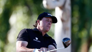 Phil Mickelson: Making his first appearance in four months.