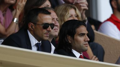 Radamel Falcao: Challenged by Louis van Gaal