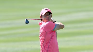 Rory McIlroy: Birdied the final three holes to earn pole position for the weekend
