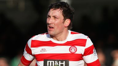 Martin Canning: Not happy with Accies effort