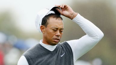 Tiger Woods: Worst round since turning professional in 1996
