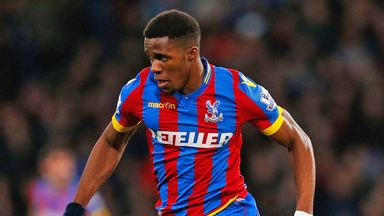Wilfried Zaha: Regular starter under Alan Pardew