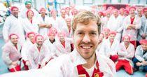 Vettel to debut 2015 Ferrari