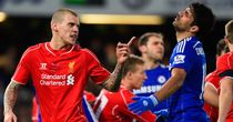 Martin Skrtel: Clashes with Diego Costa during the Capital One Cup semi-final second leg