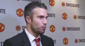 Van Persie not happy with form